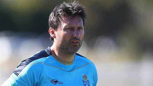 Laurie Daley sacked as NSW Origin coach