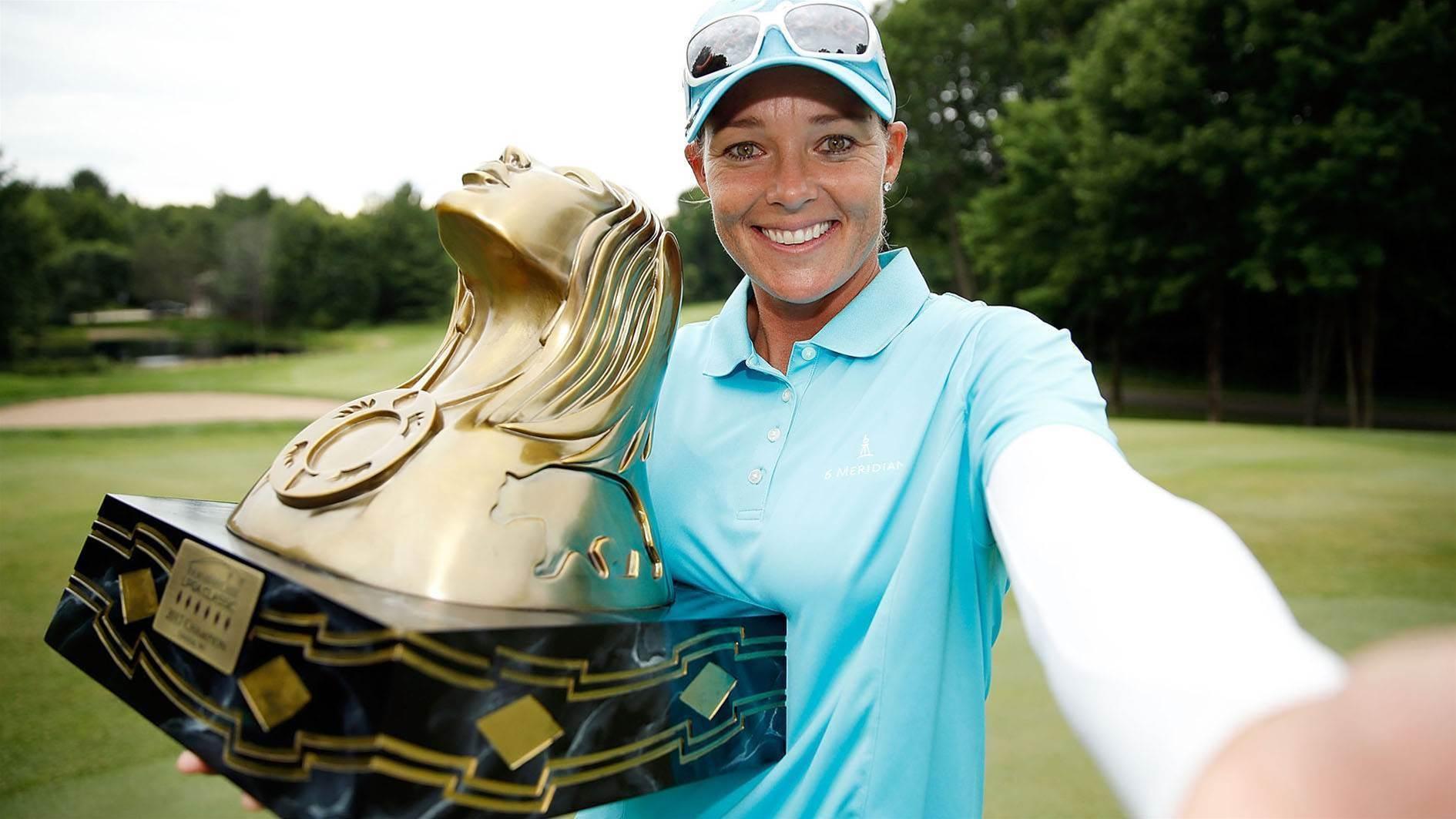 LPGA: Humble Kirk back in the winner's circle