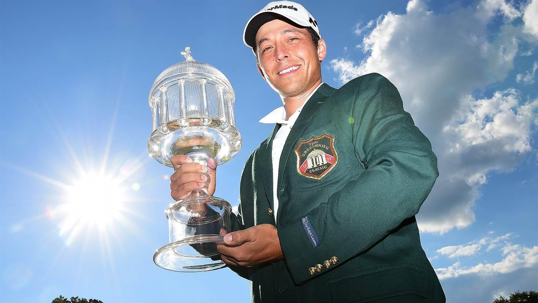 PGA TOUR: Rookie Schauffele stands tall at Greenbrier
