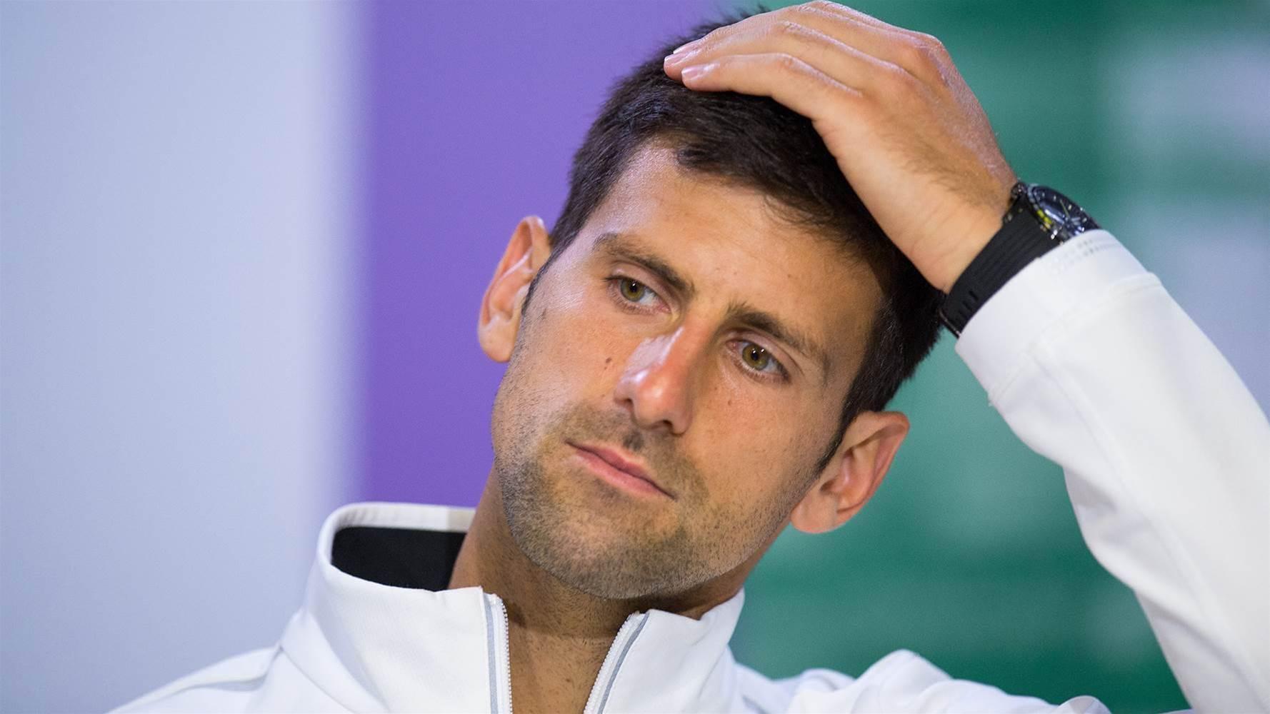 Djokovic won't play again in 2017
