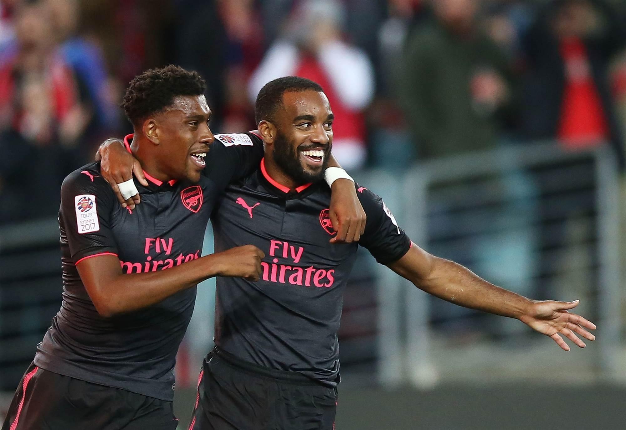 Lacazette scores as Gunners triumph