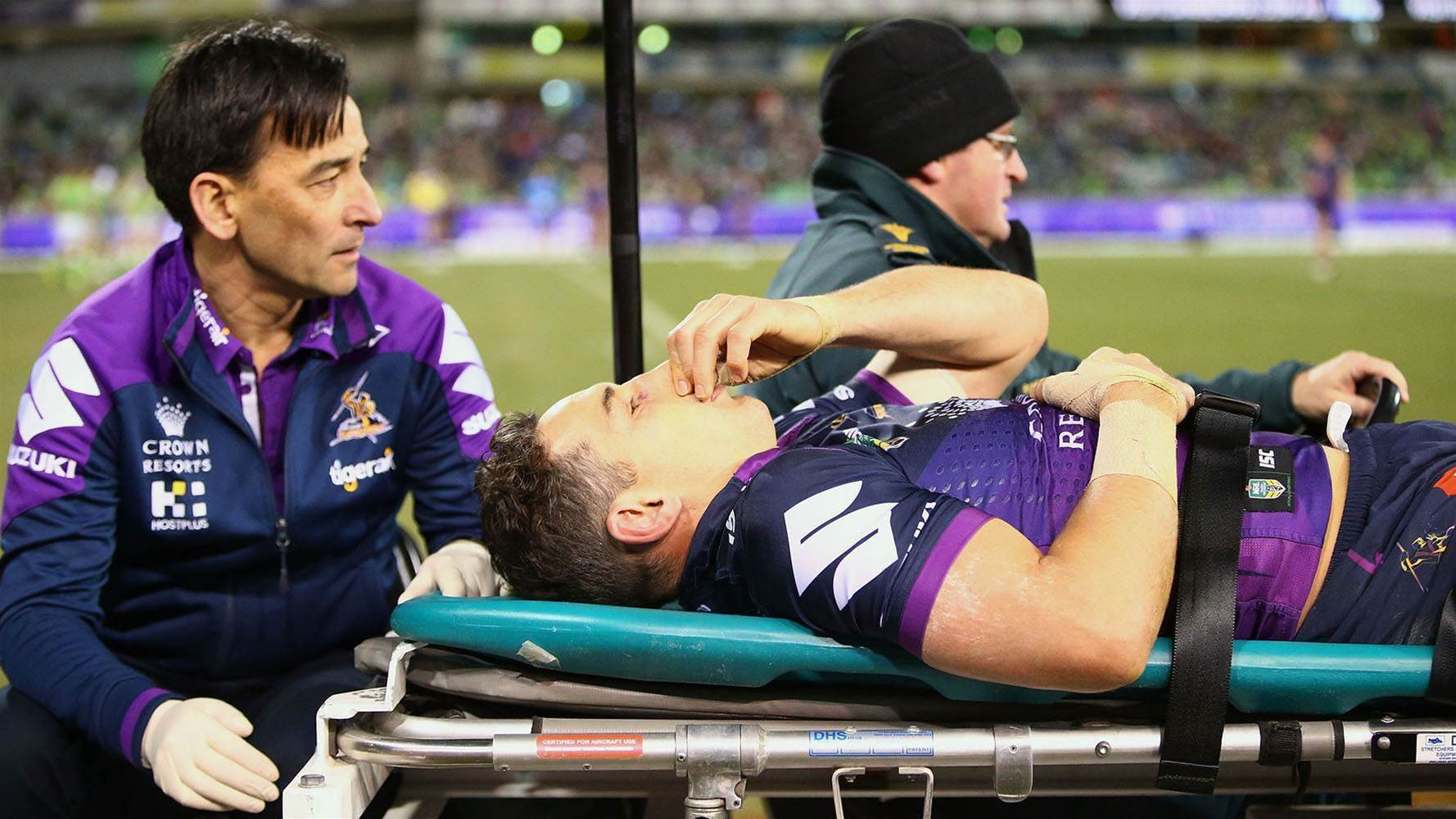 Billy Slater hopeful of quick return