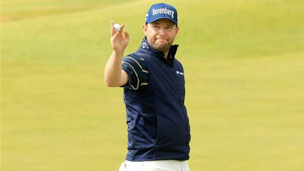 THE OPEN: Branden Grace fires first 62 in major history