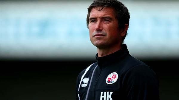 Crawley begs fans: Stand by Harry Kewell