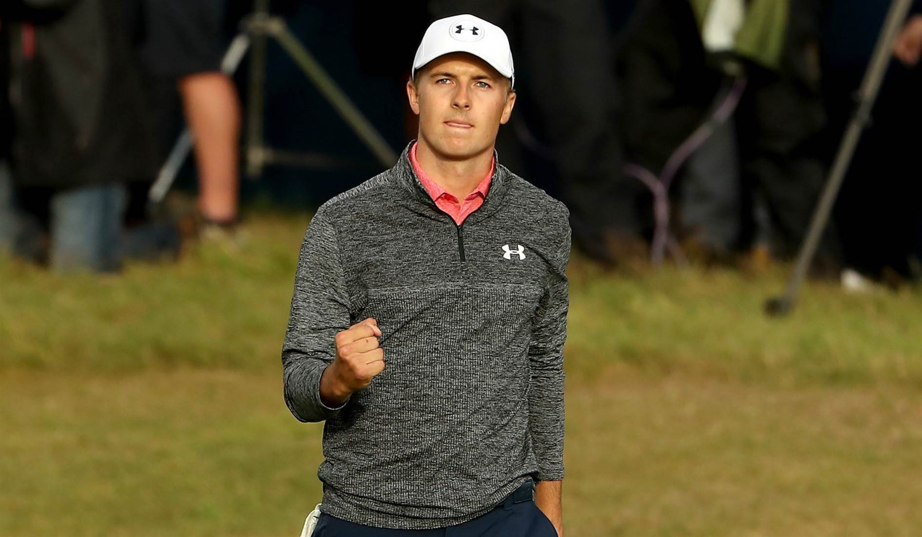 THE OPEN: Spieth has one hand on the Claret Jug