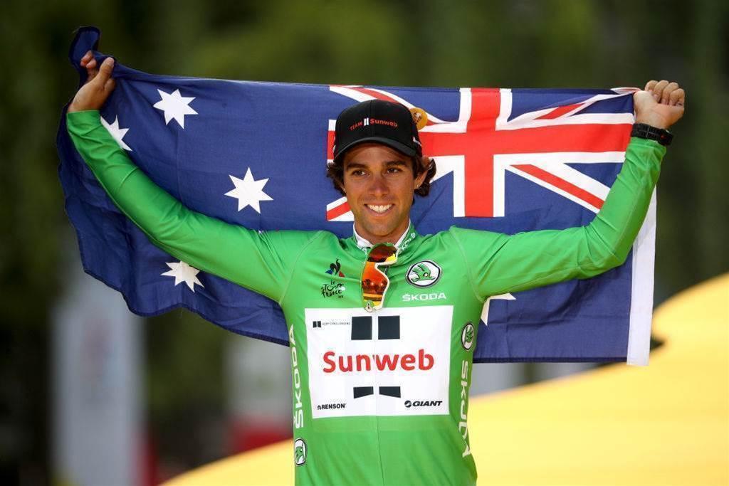 Matthews seals Tour de France points victory