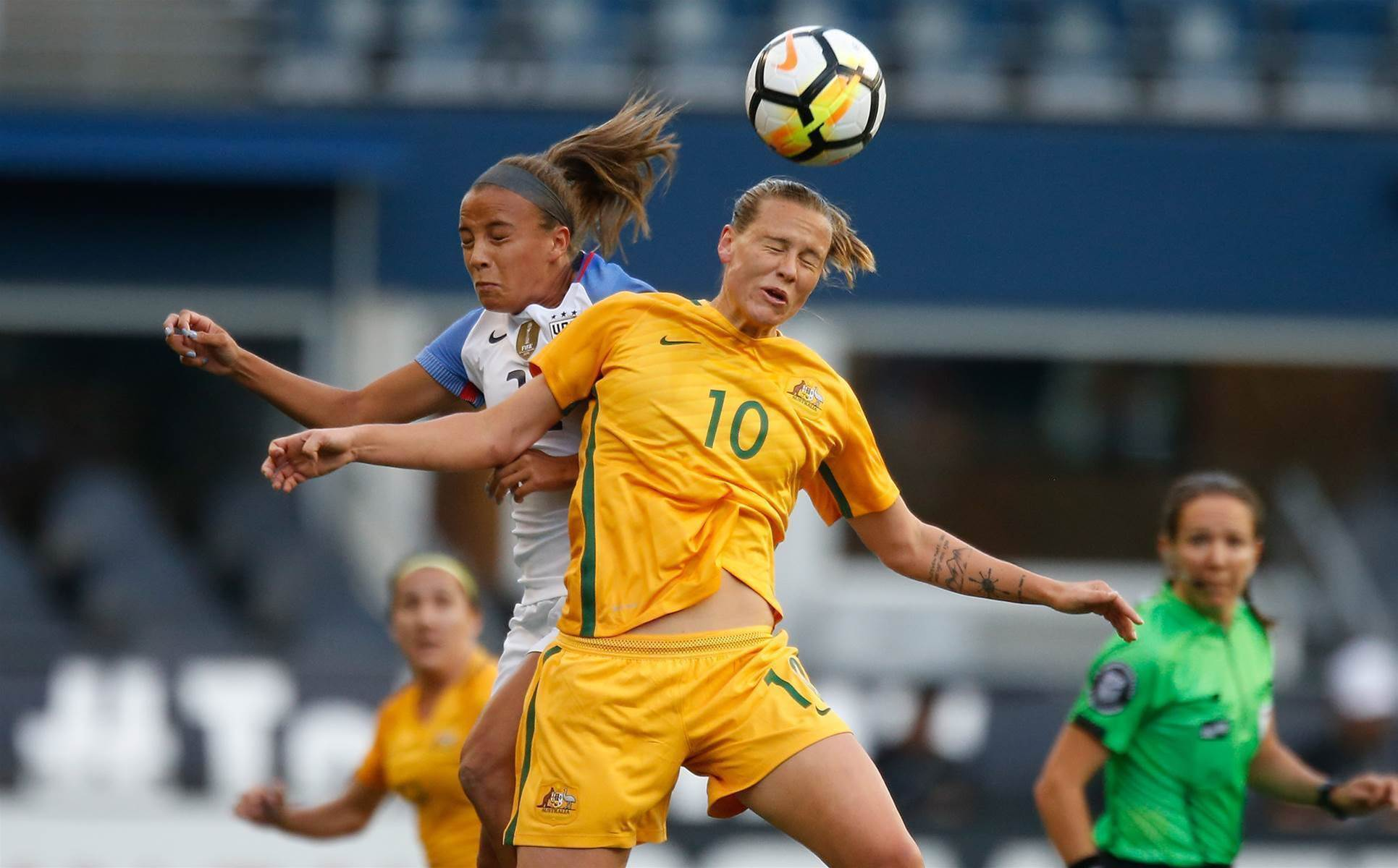 Matildas secure historic win over USA