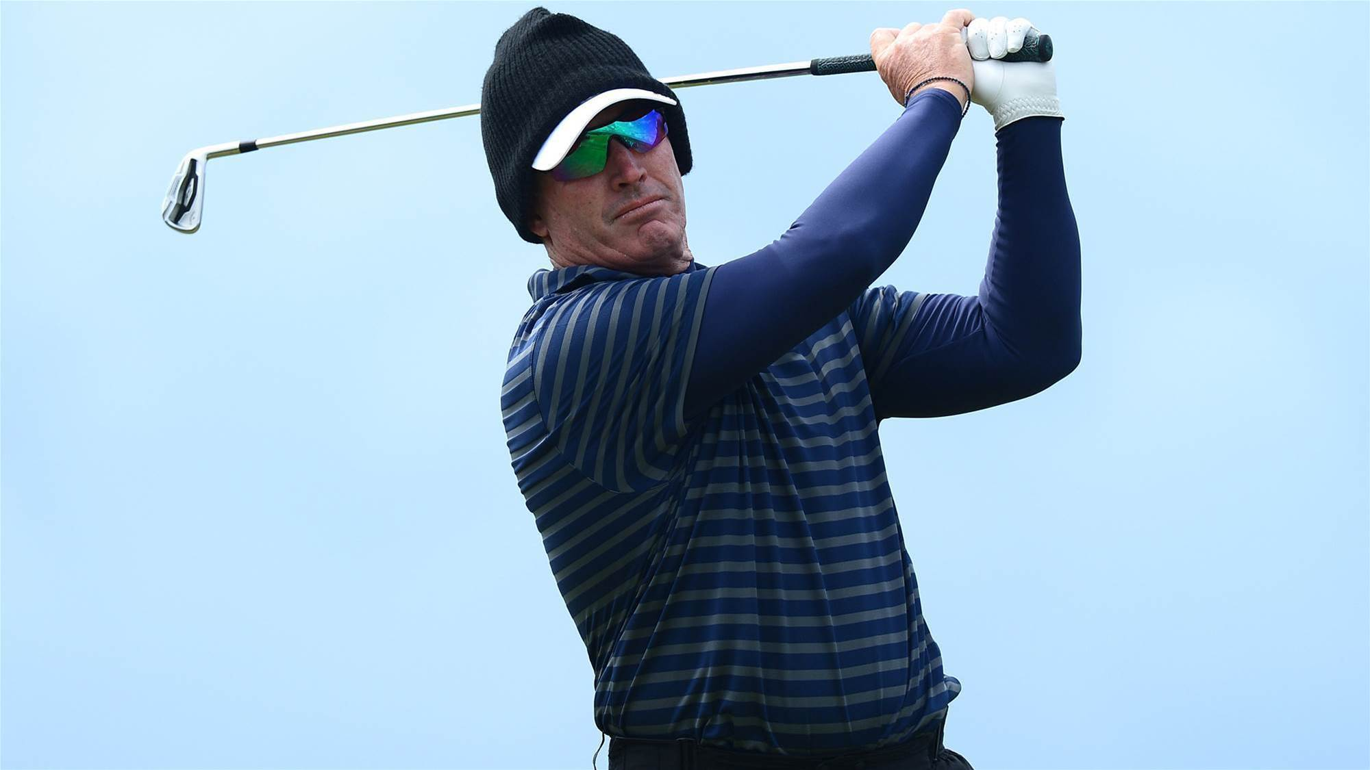 SENIOR OPEN: Lonard impresses with third place on debut