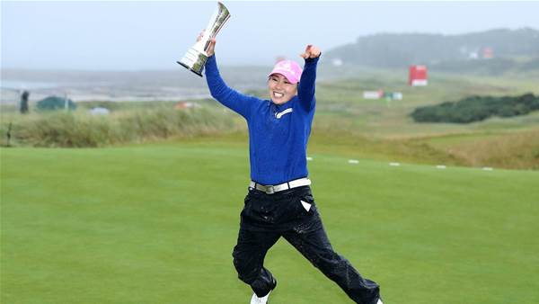 LPGA TOUR: Major redemption for Kim