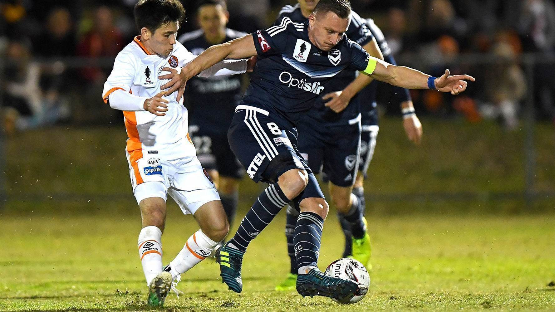 Muscat & Aloisi fume at sub-standard FFA Cup pitch