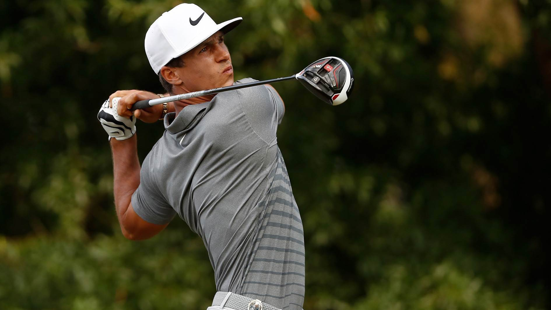 PGA: Big hitters dominate tough opening round