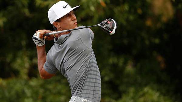 PGA: Big hitters dominate tough opening round