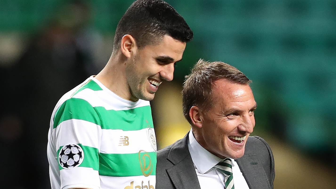 Rogic & Celtic book Champions League spot