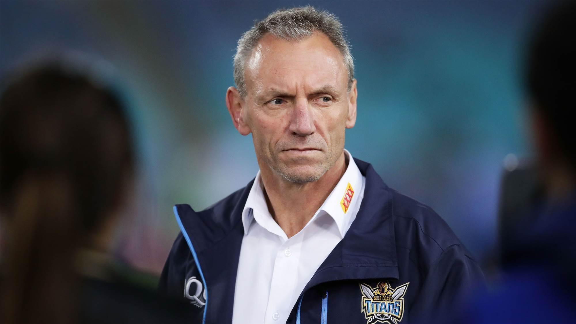 Titans sack Neil Henry