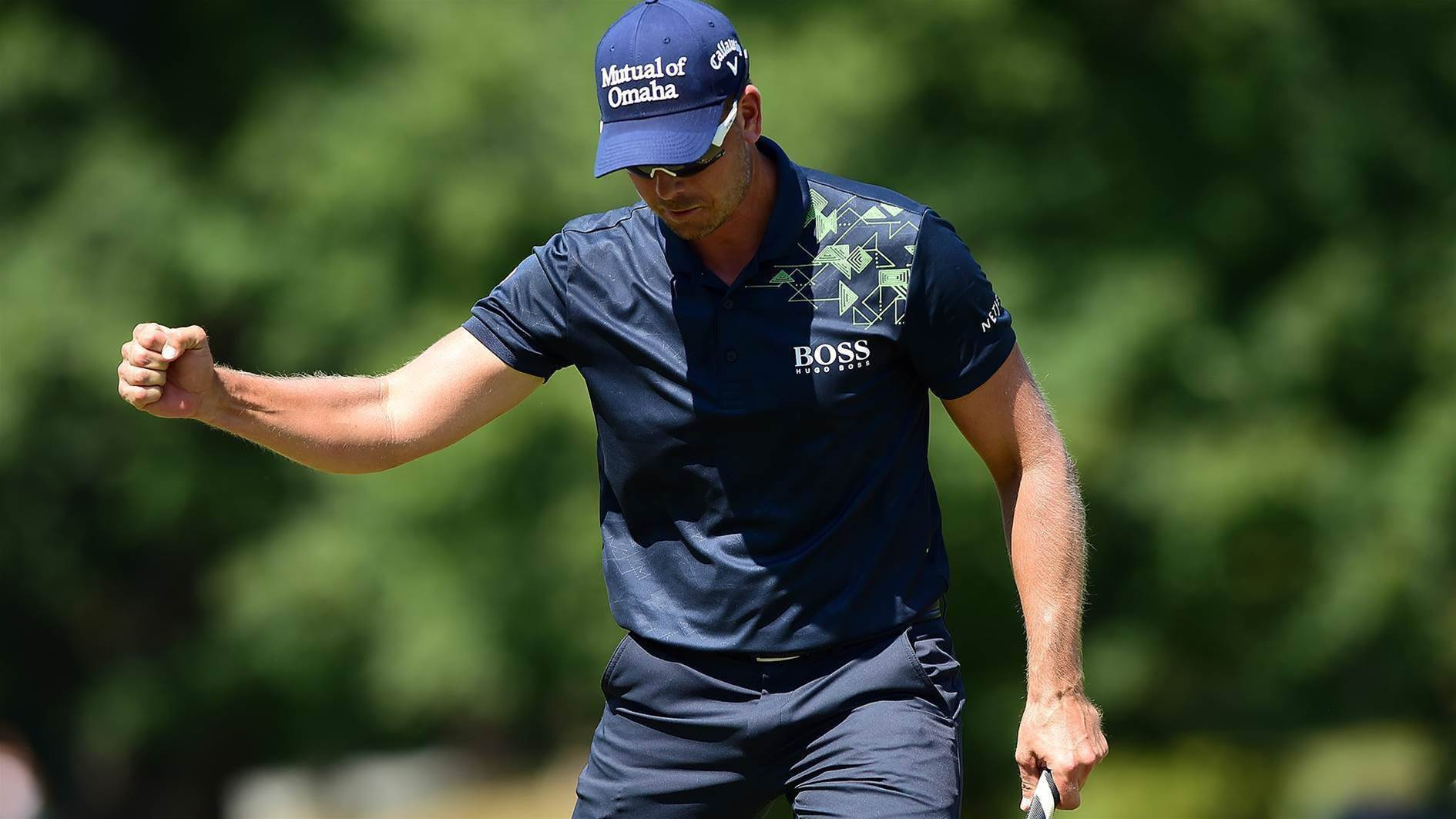 PGA TOUR: Stenson ices victory at Wyndham