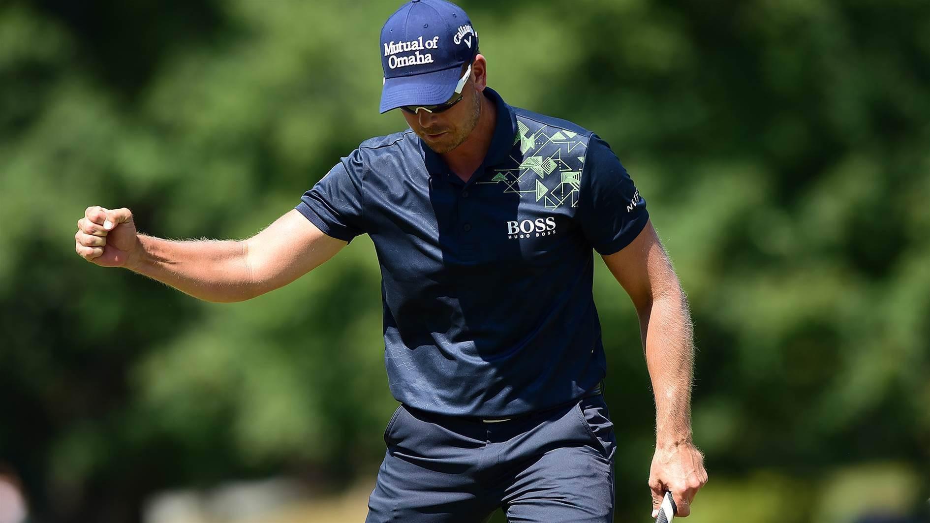 PGA TOUR: Stenson ices victory at Wyndham