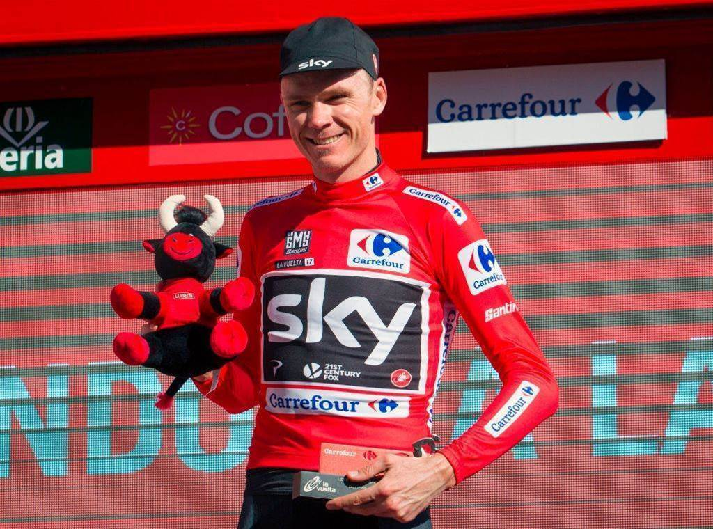 Froome takes control of Vuelta
