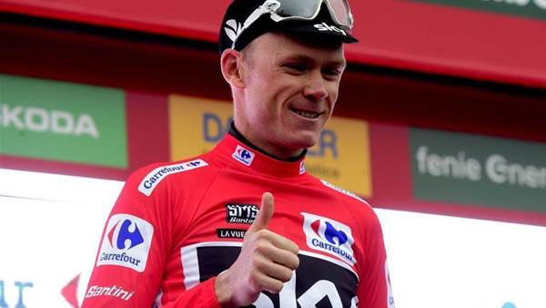 """Froome takes """"huge step"""" towards Vuelta victory"""
