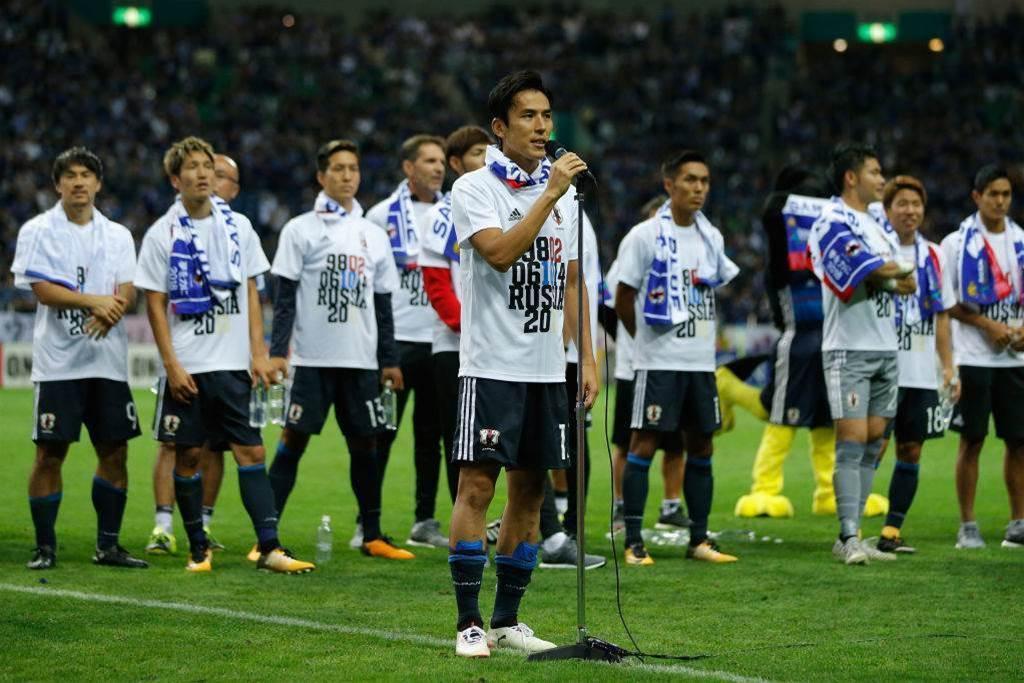 Japan withdraw Hasebe & Kagawa