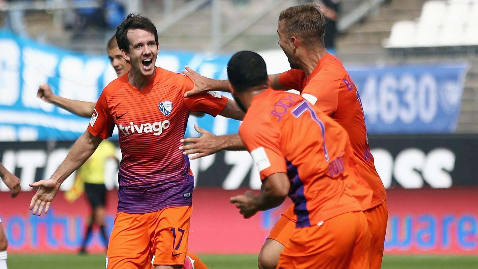 Kruse scores late winner for Bochum