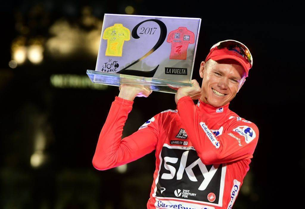 Vuelta winner Froome eyes up 2018 Giro d'Italia
