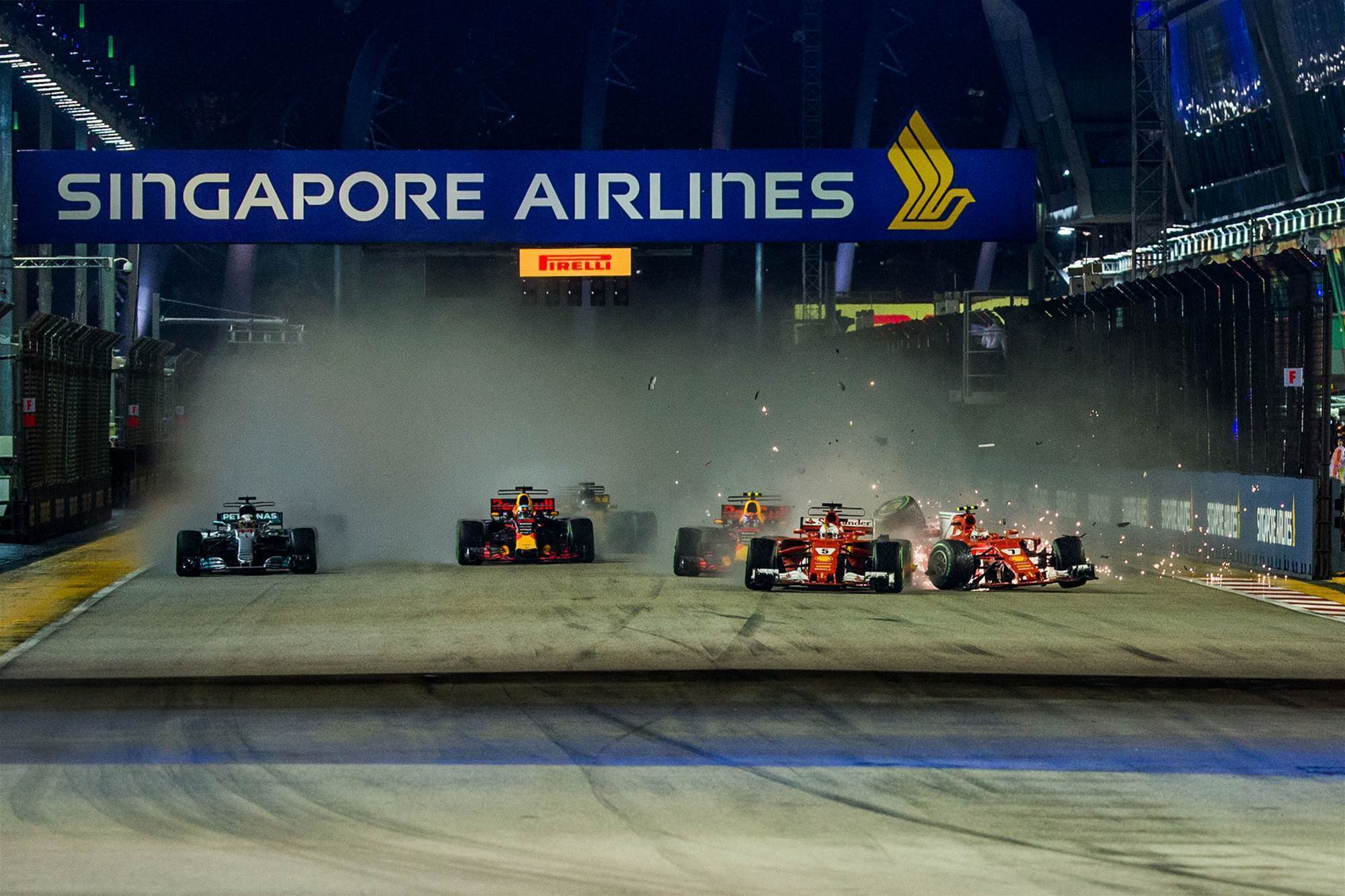 No one to blame in Singapore F1 pileup: FIA