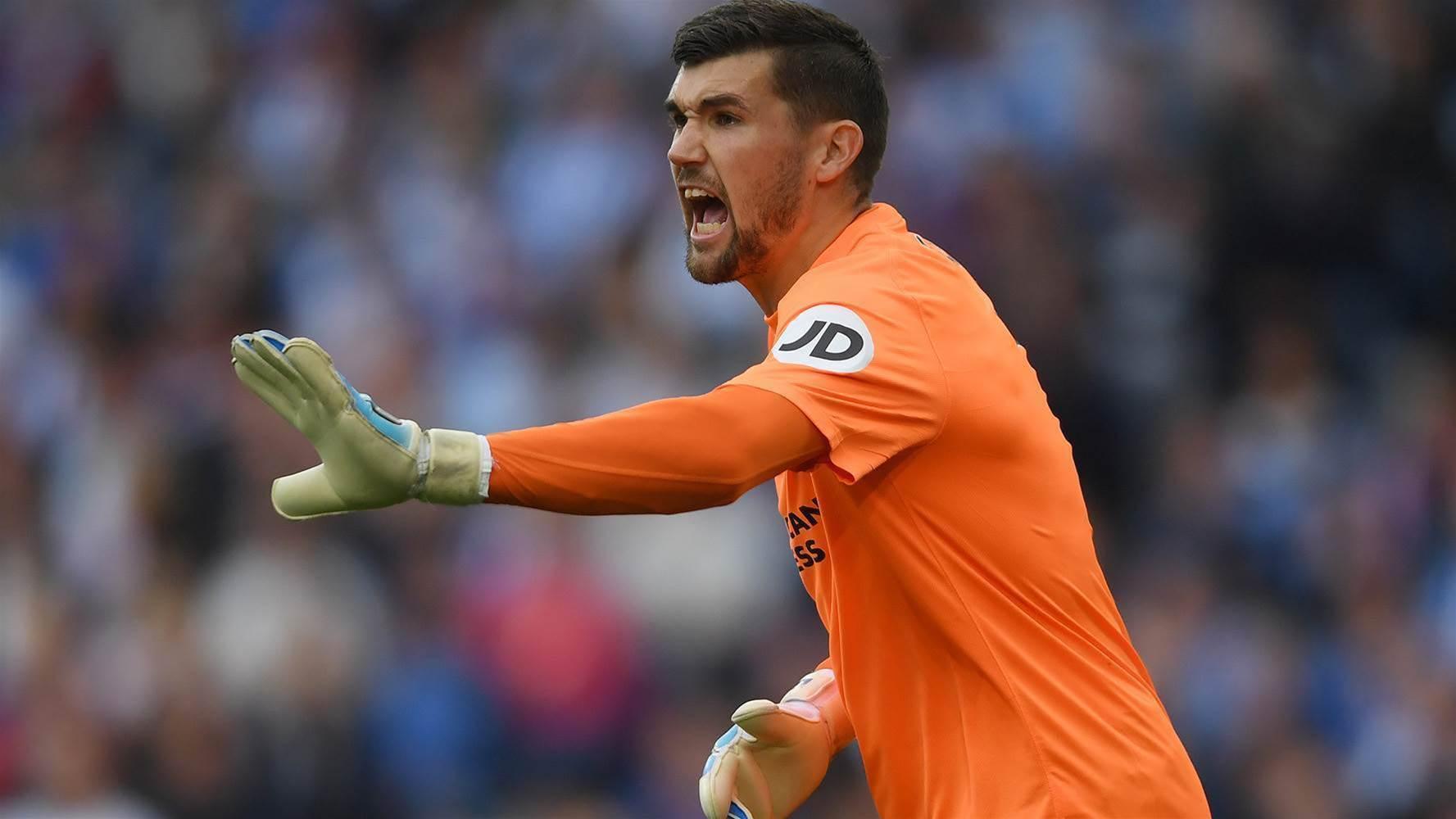 Ryan clean sheet helps Brighton to victory
