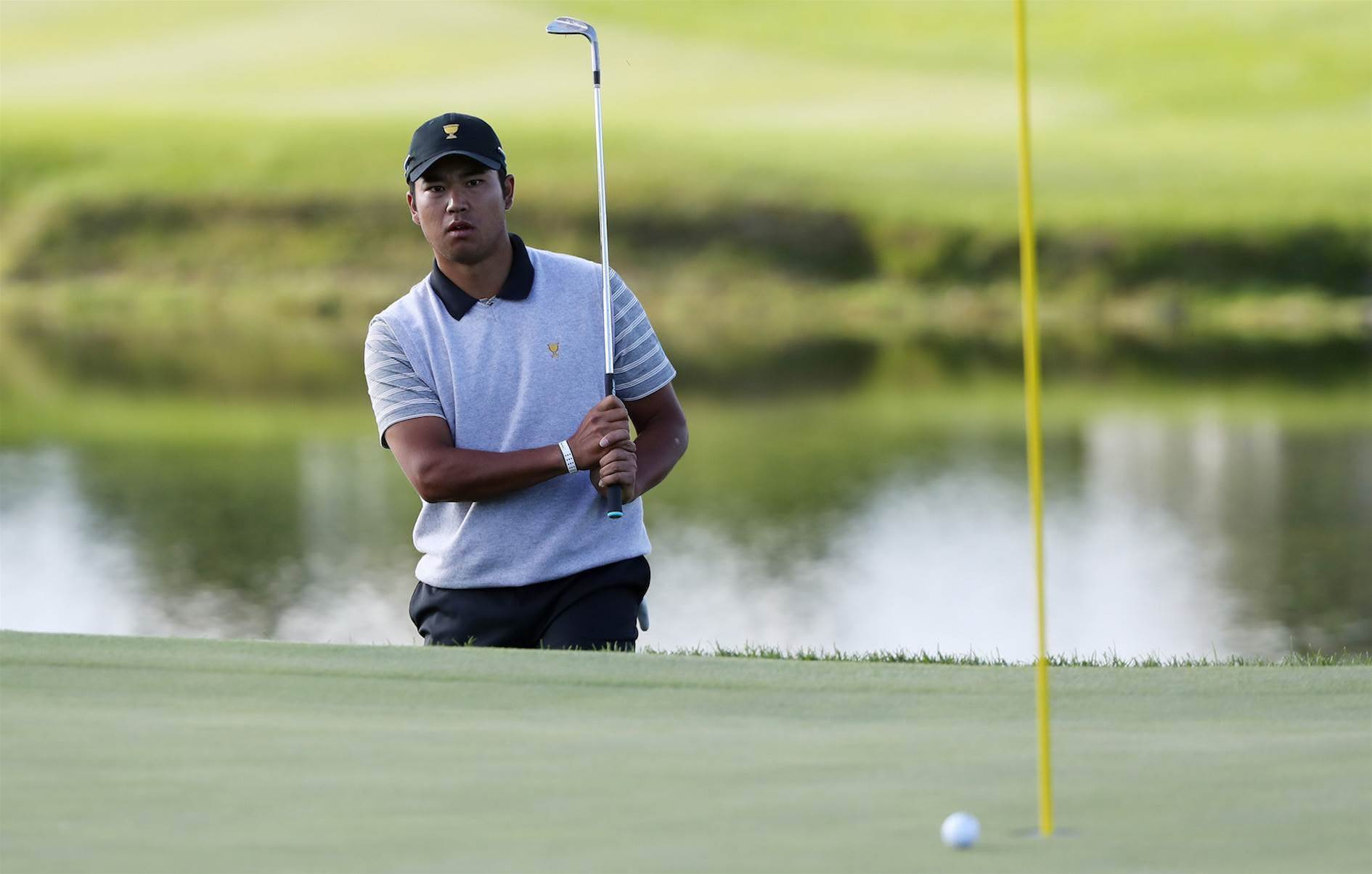 PRESIDENTS CUP: Struggling Hideki benched for Foursomes