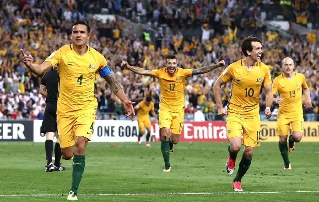 Socceroos surge to best ranking in 2017