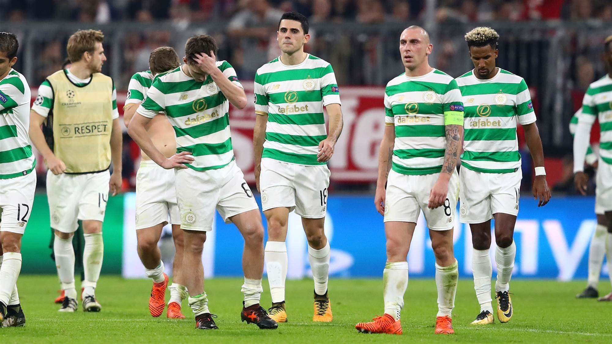 Celtic & Rogic suffer Bayern UCL defeat