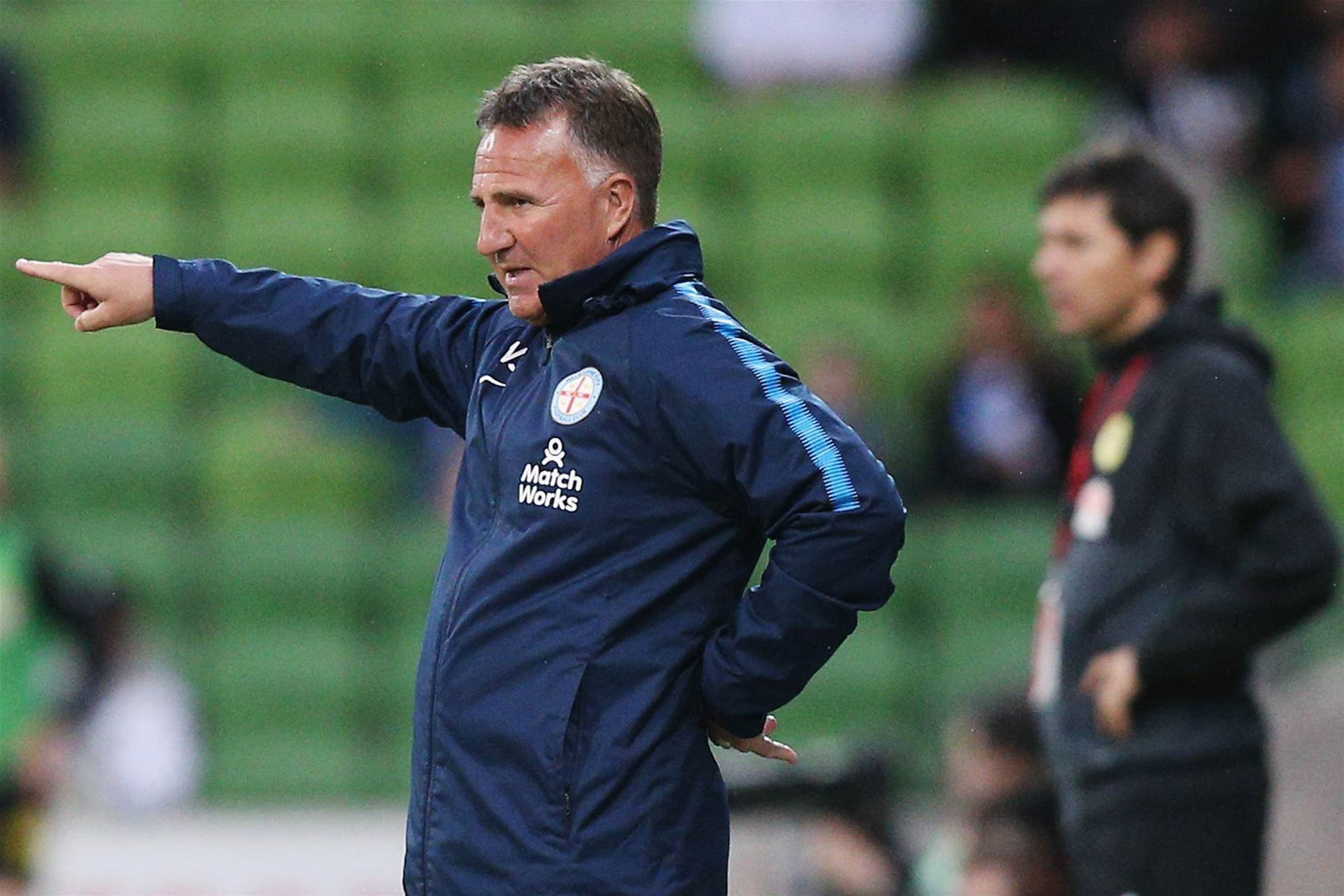 City top and undefeated, but Joyce wants more