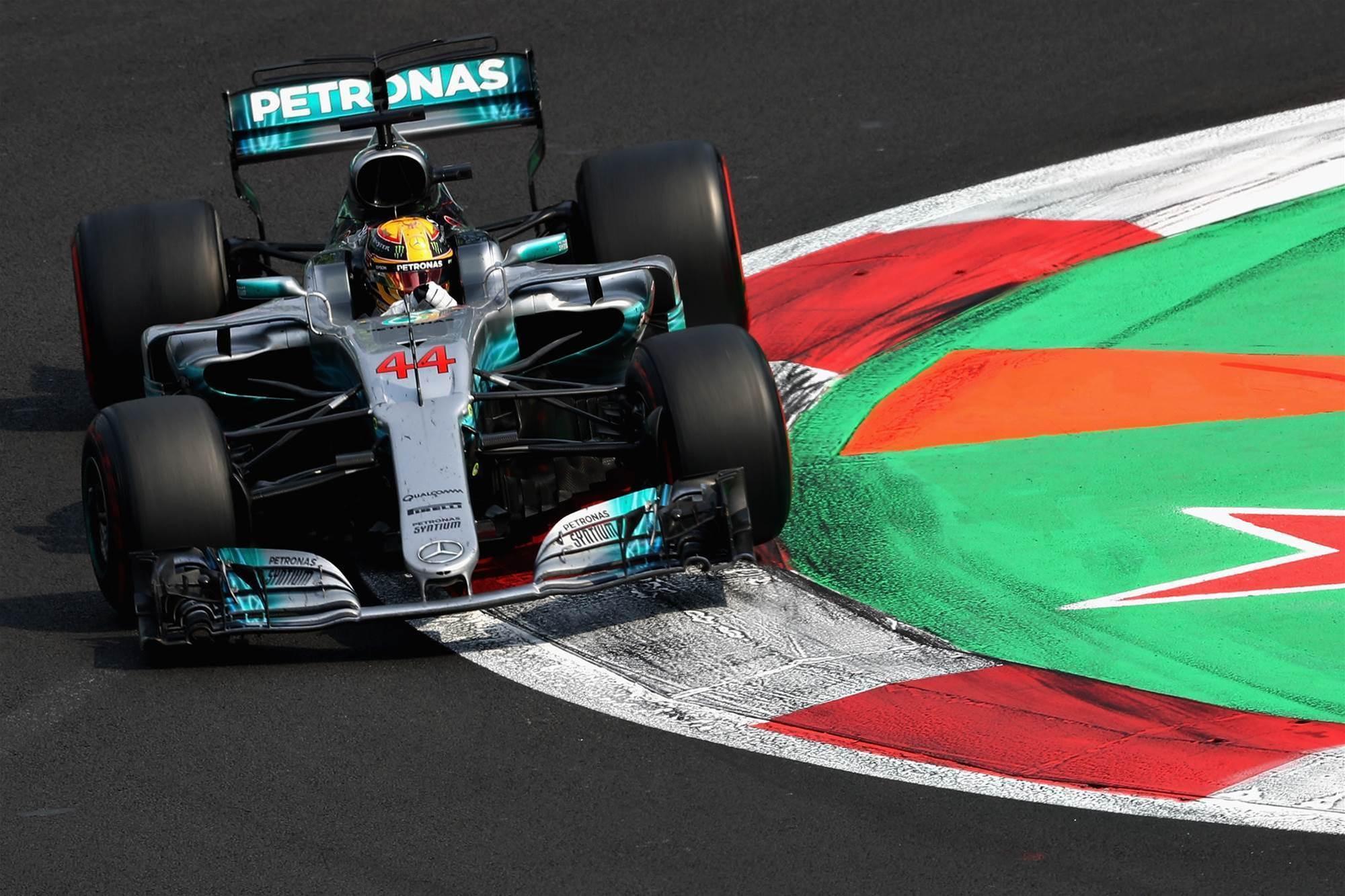 Formula 1 reveals new engine changes