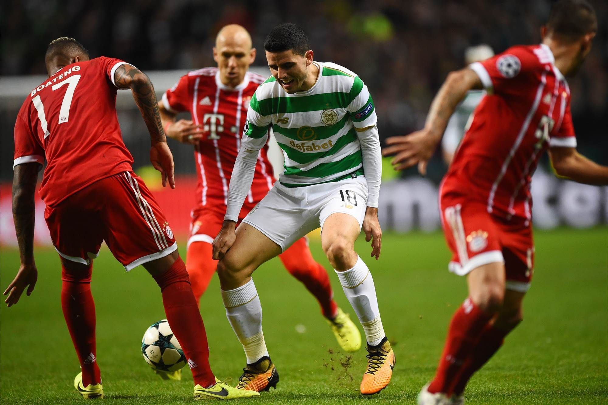 Rogic & Celtic knocked out of Champions League