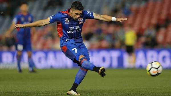 Newcastle Jets flying high and focused - Petratos