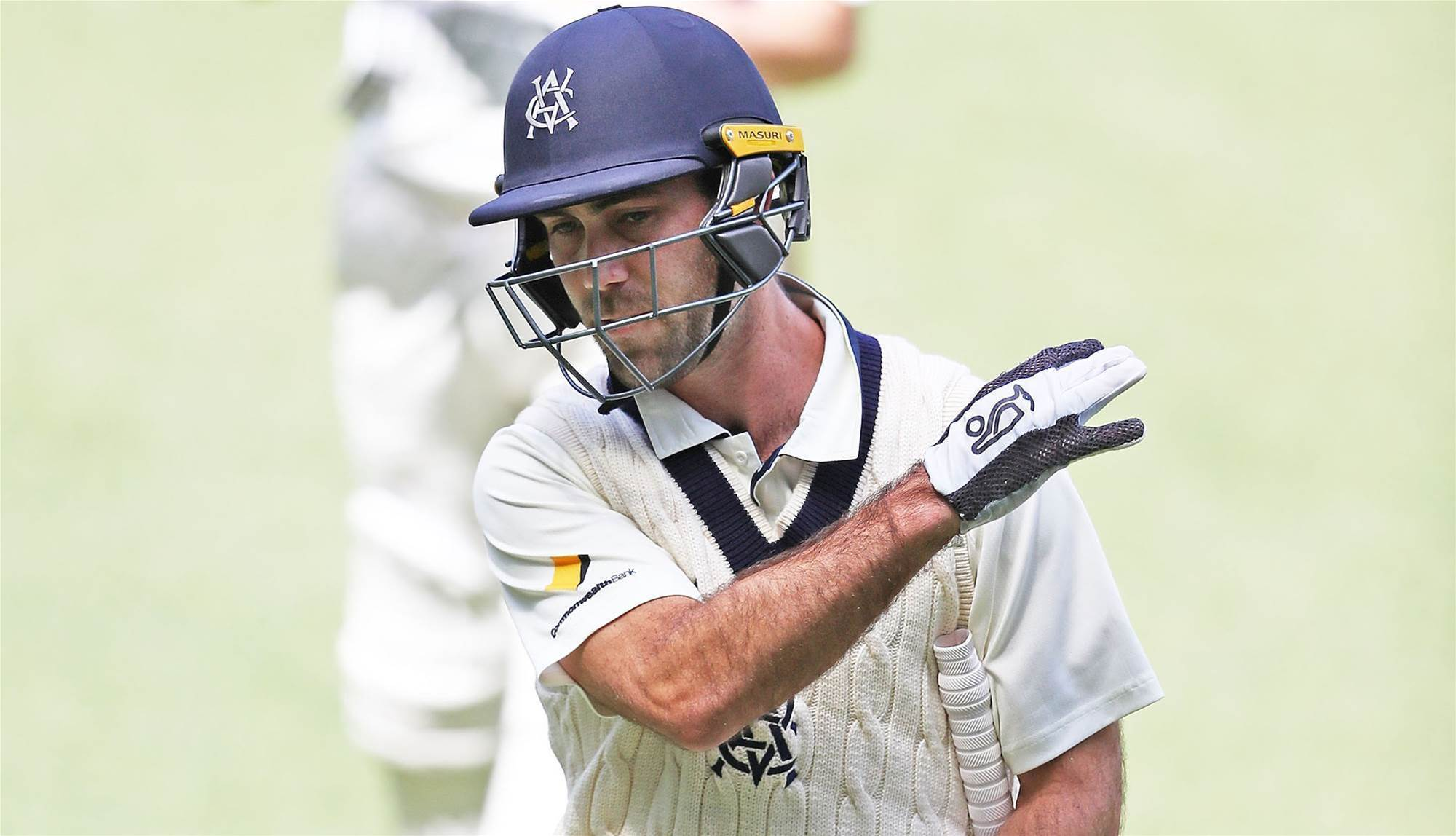 Maxwell 'threw away' chance of Ashes berth