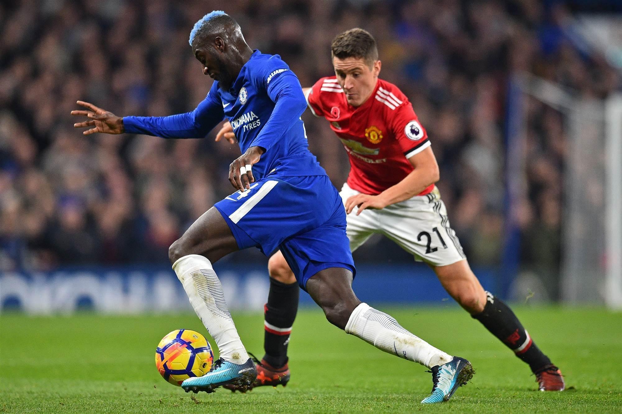 Coincidence? Chelsea's Tiemoue Bakayoko rocks ice blue hair