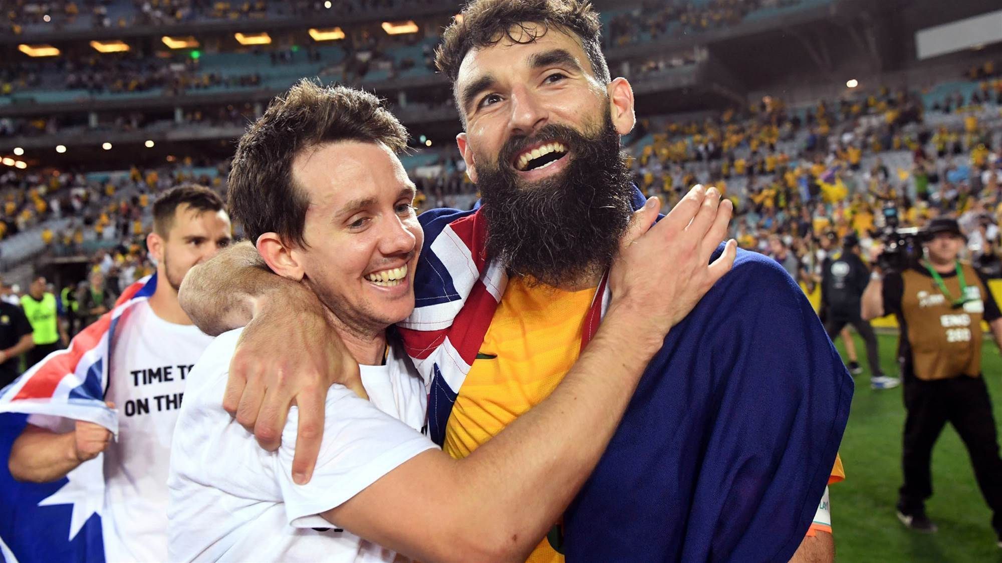 Hat-trick hero Jedinak 'happy to chip in'