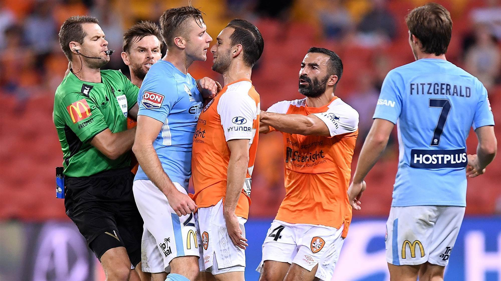 Brisbane Roar v Melbourne City player ratings