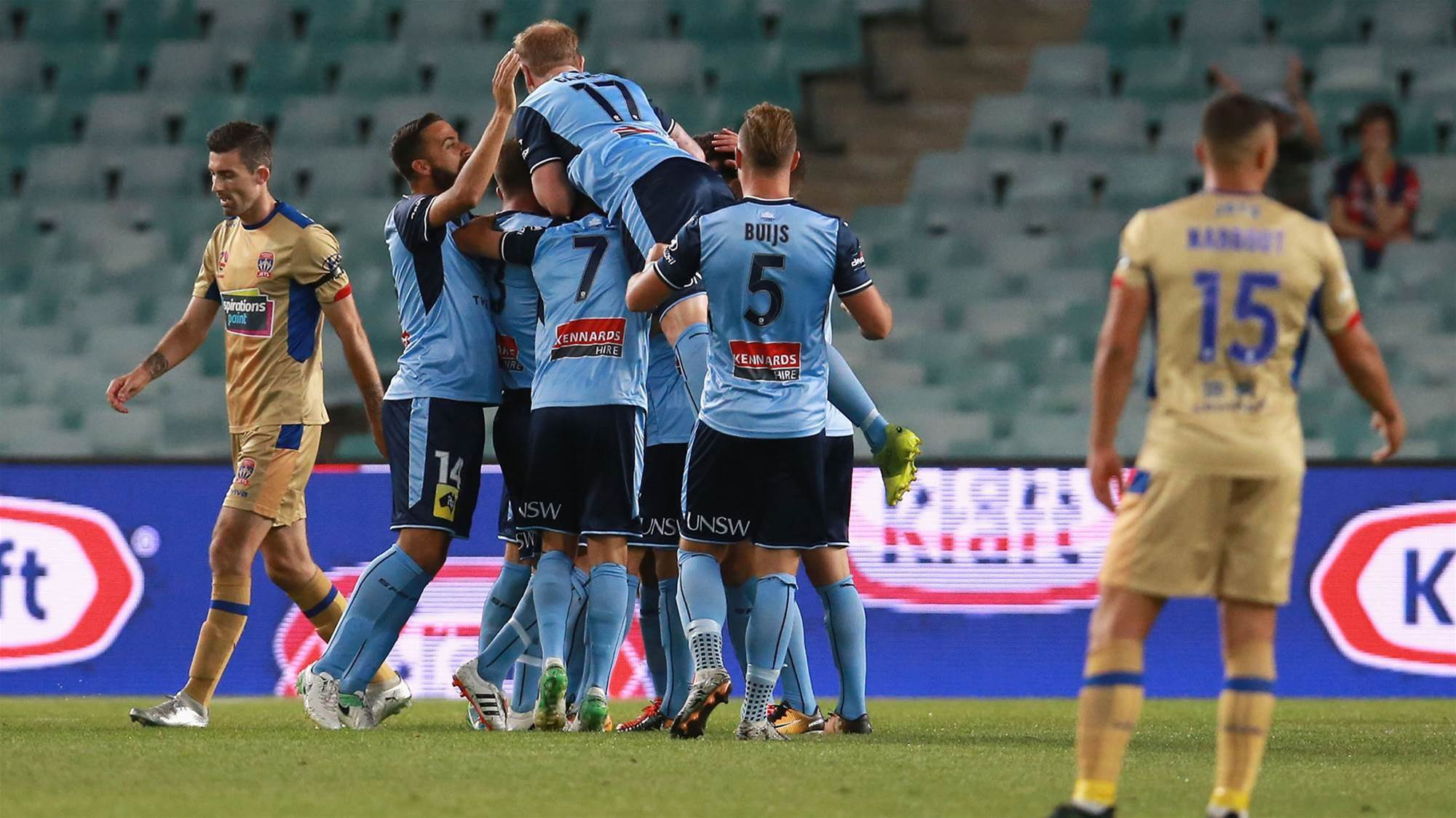 Milestone man Brosque: It's all about the win