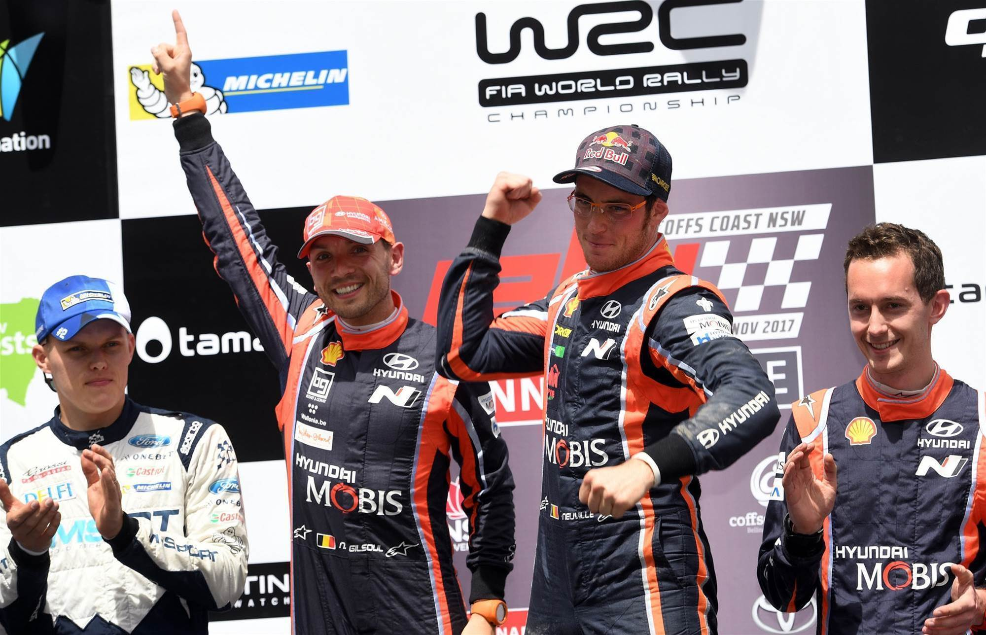 Neuville wins Rally Australia