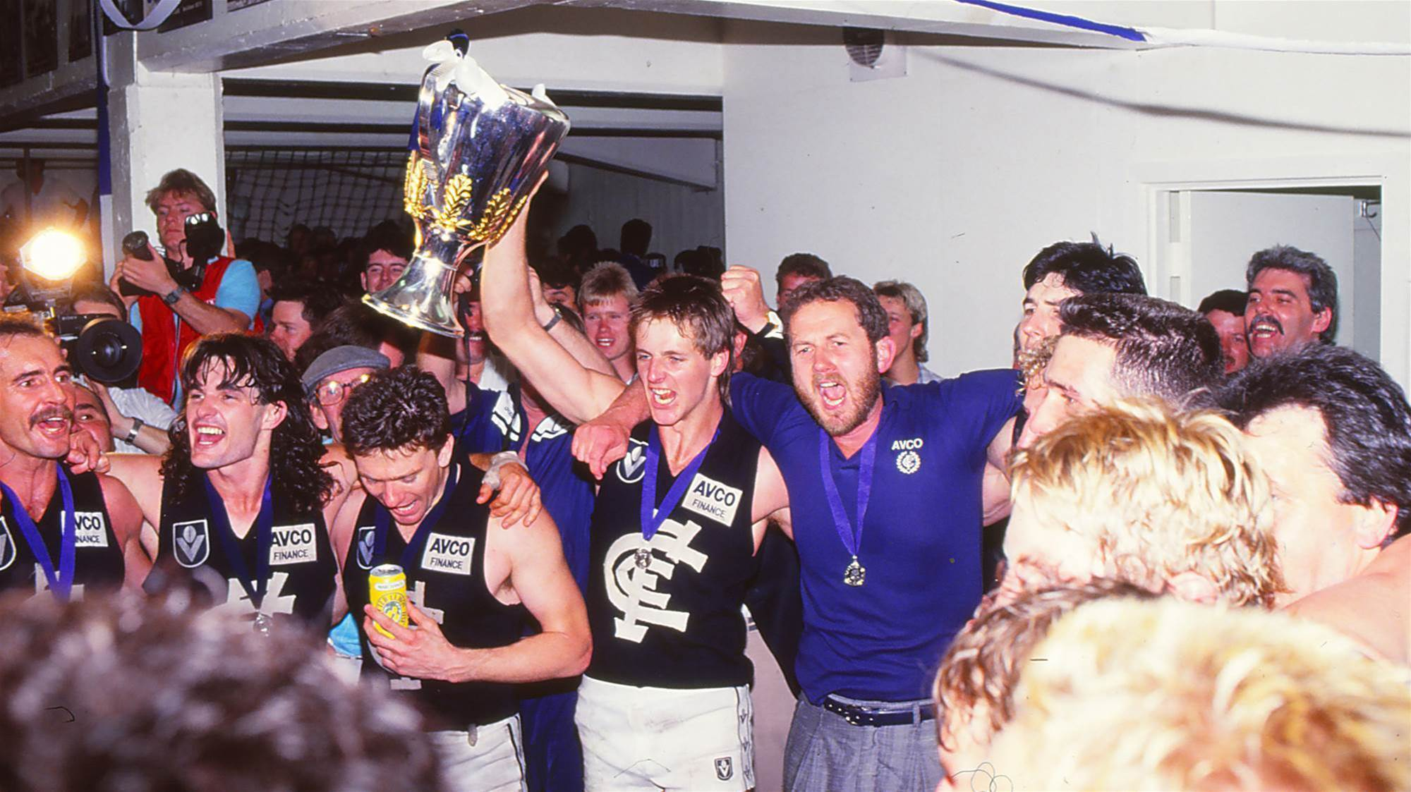 Carlton's 1987 Premiership: 30 years on