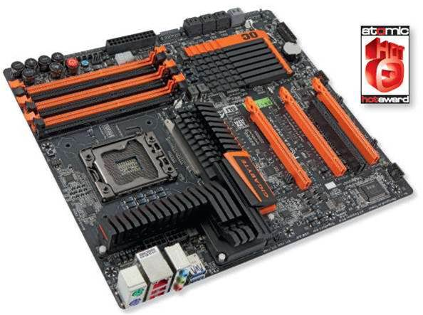 GIGABYTE X58A-OC goes like the proverbial...