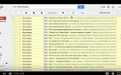 Gmail quick tip: search and move emails to a folder easily