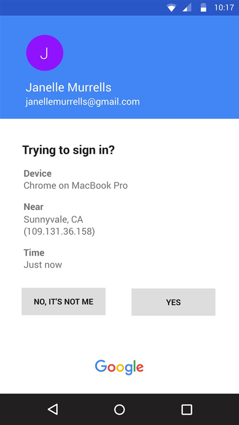 Google wants users to migrate away from SMS for two-step verification