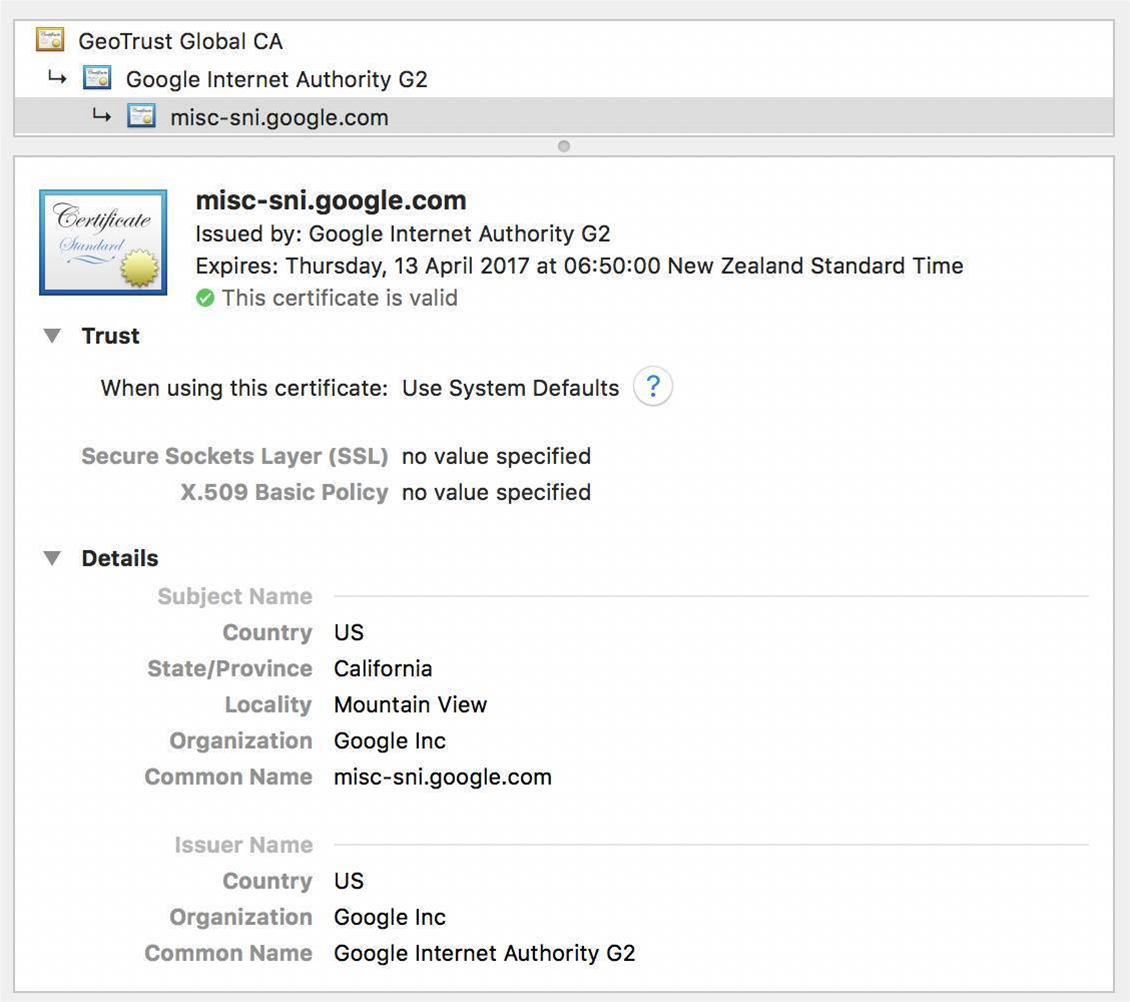Google sets up own root certificate authority