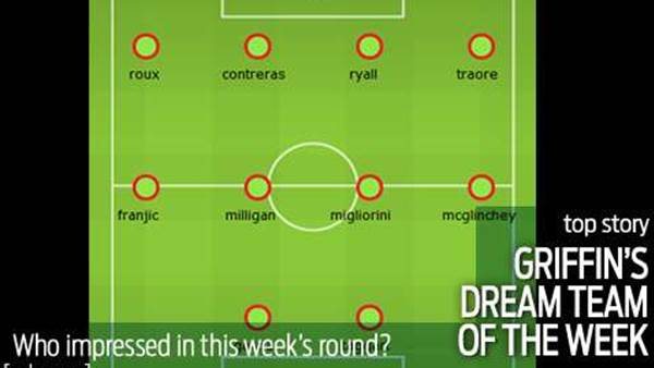 Griff's Dream Team for Week Seven