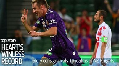 Heart equal A-League winless record