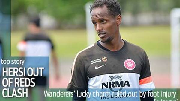 Hersi sidelined for Adelaide meeting