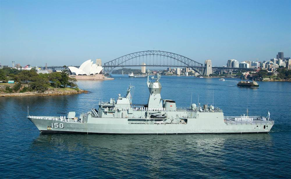 Australian Navy trials sensor analytics on ship engines