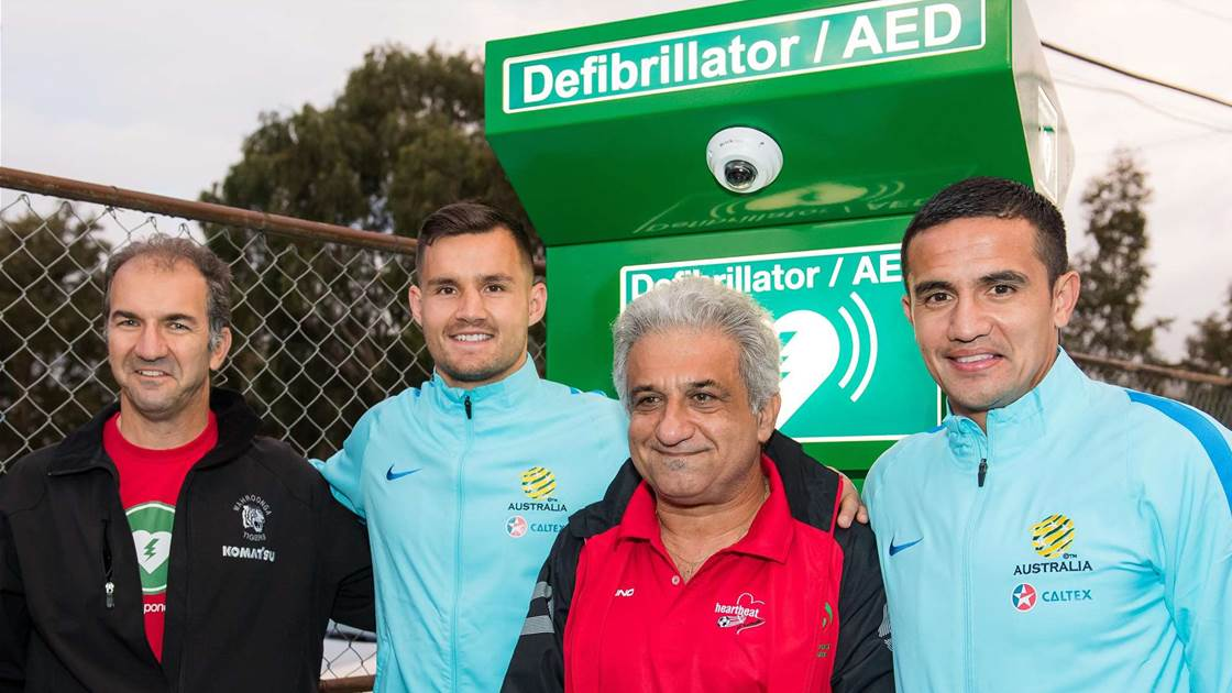 Heartbeat of Football's mission to save lives
